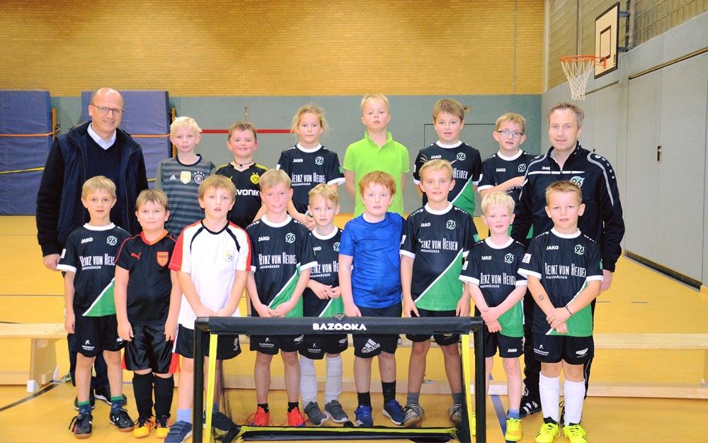 TSV Drebber besucht Fußballschule von Hannover 96