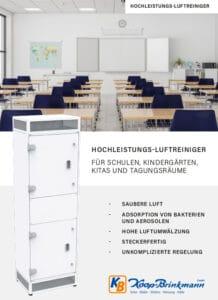 Broschüre Hochleistungs-Luftreiniger
