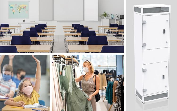 Hochleistungs-Luftreiniger Koop-Brinkmann GmbH